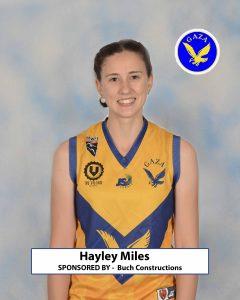 23 Hayley Miles