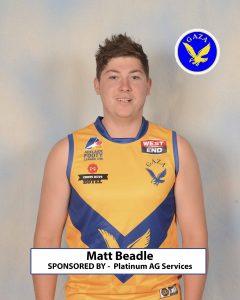 15 Matt Beadle